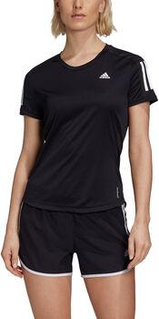 adidas Own the Run t-shirt Dames Zwart