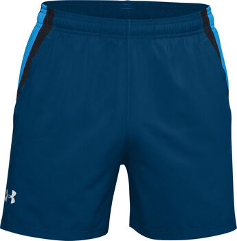 "Under Armour Launch SW 5"" short Heren Blauw"