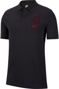 Nike Paris Saint-Germain Sportswear polo Heren Zwart