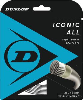 Iconic All 1.30 mm tennissnaar