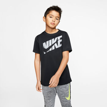 Nike Short Sleeve kids shirt Jongens Zwart