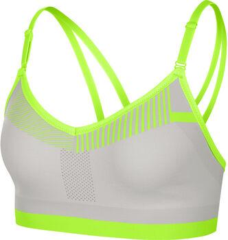 Nike Flyknit Indy sportbeha Dames Grijs