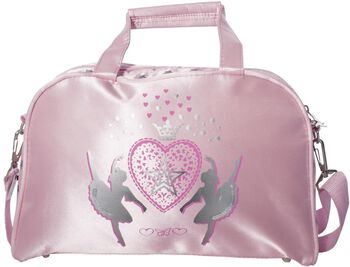 Papillon shoulder bag star Roze