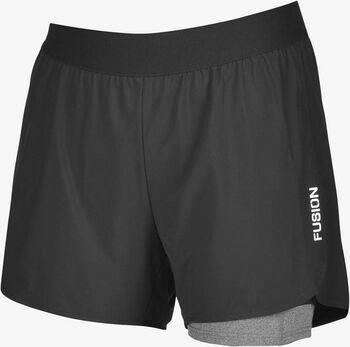 FUSION C3+ Run short Heren Zwart