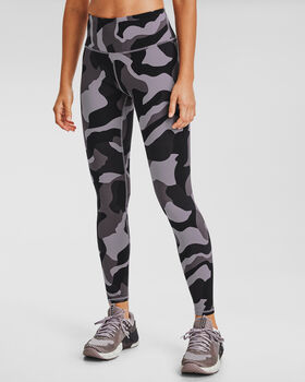 Under Armour Rush Camouflage legging Dames Paars