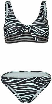 Brunotti Aditi-Zebra bikini Dames Groen