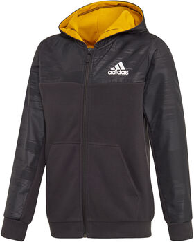adidas Warm AEROREADY Warming Full Zip hoodie Jongens Zwart