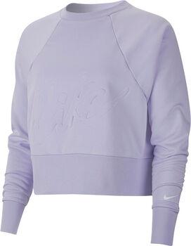 Nike Dry Get Fit Crew hoodie Dames Paars