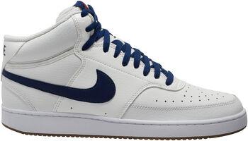 Nike Court Vision Mid basketbalschoenen Heren Wit