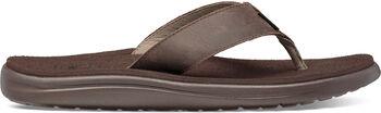 Teva Voya Flip Leather slippers Heren Bruin