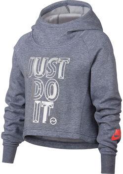 cb19edd5fff Nike Crop JDI hoodie Meisjes Blauw