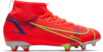 Nike Superfly 8 Academy FG/MG kids voetbalschoenen Rood