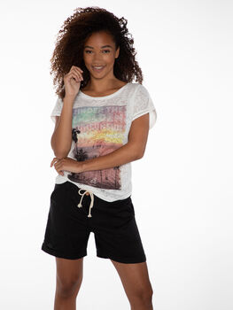 Protest Rue 21 short Dames Zwart