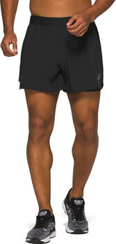 ASICS Read 2-N-1 short Heren Zwart