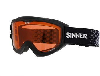 Sinner Lakeridge skibril Zwart