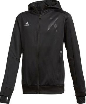 ADIDAS X hoodie Jongens Zwart