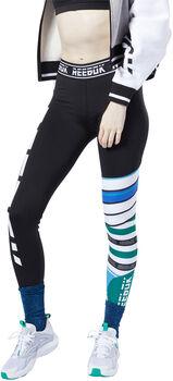 Reebok Meet You There Engineered Legging Dames Groen