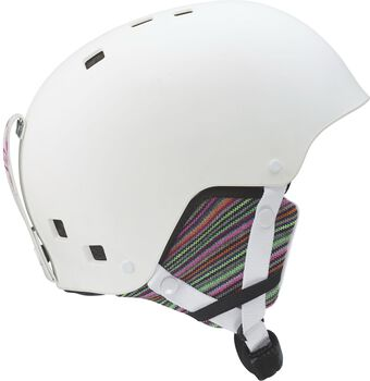 Salomon Kiana jr skihelm Jongens Wit