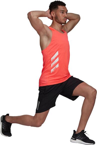 Own the Run 3-Stripes singlet