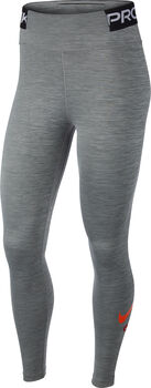 Nike One Iconclash tight Dames Grijs