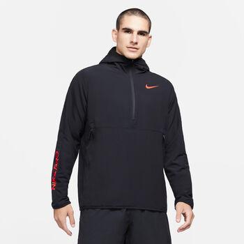 Nike Pro 1/2-Zip hoodie Heren Zwart