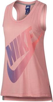 Nike Sportswear tank Dames Oranje