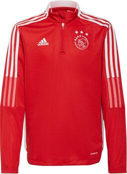 adidas Ajax Tiro Longsleeve kids trainingsshirt 21/22 Jongens Rood