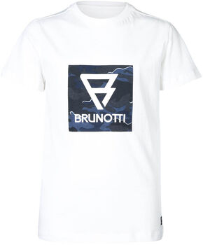Brunotti Tim-Print kids t-shirt Jongens Grijs