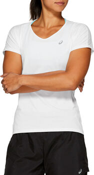 Asics V-Neck shirt Dames Grijs