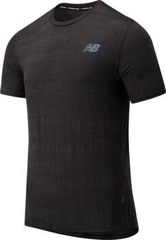 New Balance Speed Fuel shirt Heren Zwart
