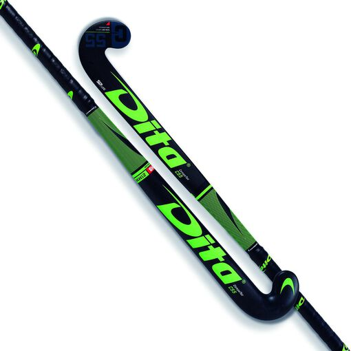 Dita - CompoTec C55 M-Bow jr hockeystick - Jongens - Accessoires - Zwart - 33