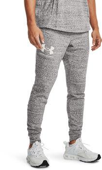 Under Armour Rival Terry broek Heren Wit