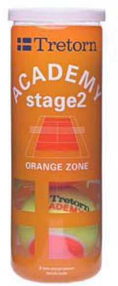 Academy Orange 3-tube tennisballen