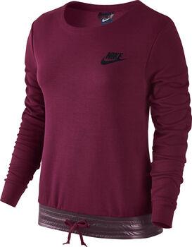 Nike Advance 15 Crew sweater Dames Rood