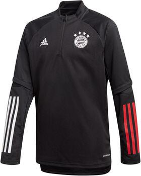 ADIDAS FC Bayern München trainingsshirt 20/21 Jongens Zwart