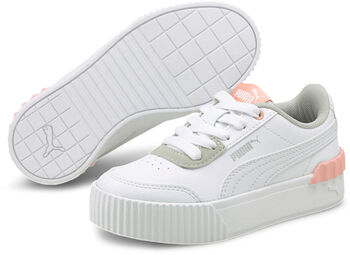 Puma Carina Lift peuter sneakers Meisjes Wit