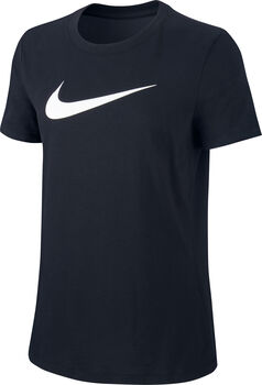 Nike Dry DFC Crew shirt Dames Zwart