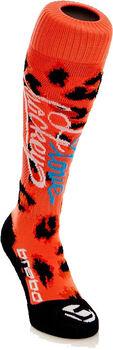 Brabo Leopard I Love Hockey hockeysokken Zwart
