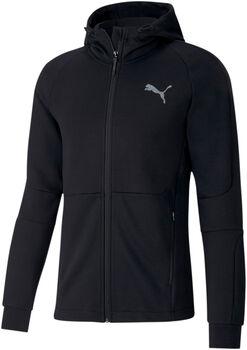 Puma Evostripe FZ hoodie Heren Zwart