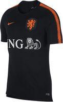 Nike Breathe Nederlands Elftal Squad shirt Heren Zwart