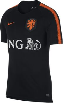 Nike Breathe Nederlands Elftal Squad shirt Heren Zwart