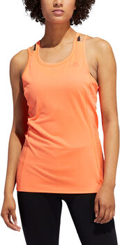ADIDAS Rise Up N Run Tanktop Dames Oranje