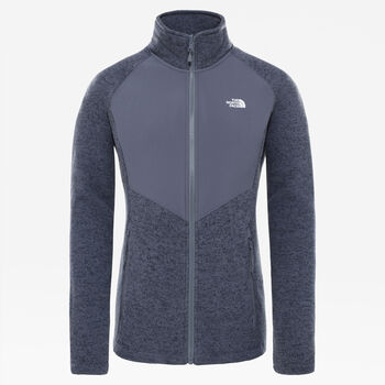 The North Face Arashi Overlay II fleece Dames Grijs