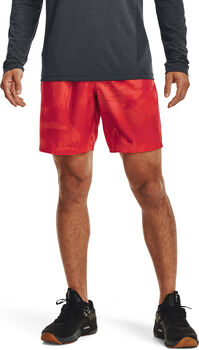 Under Armour Woven Adapt short Heren Rood