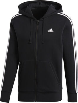 adidas Essential 3-stripes jr hoodie Heren Zwart