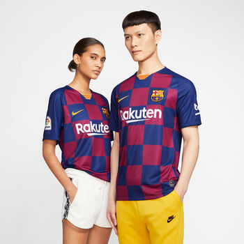 Nike FC Barcelona Thuisshirt 2019-2020 Heren Blauw