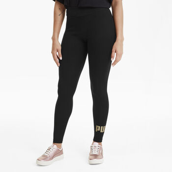 Puma Essential Logo tight Dames Zwart