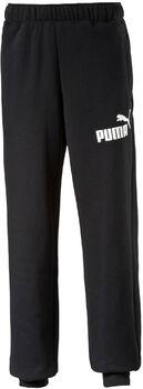 Puma Essential No1 Logo sweatpant Heren Zwart