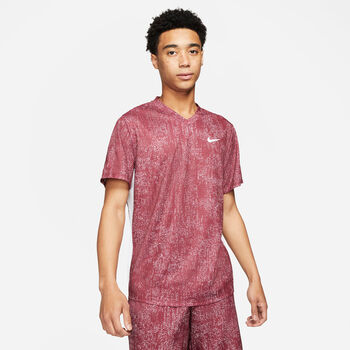 Nike Dry Victory Printed shirt Heren Rood