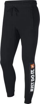 Nike HBR Fleece joggingbroek Heren Zwart